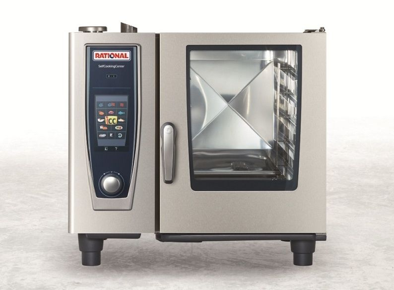 Пароконвектомат RATIONAL SelfCooking Center® SCC61 Gas B618300.30